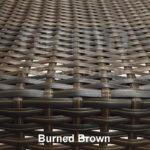 Burned Brown met naam 150x150 - Terrasstoel Saint Tropez Arm Burned brown