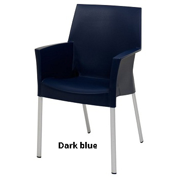 horeca Terrasstoel Sole Dark blue