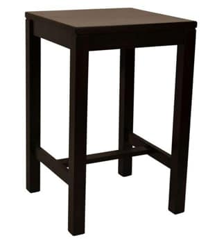 Blokpoot bartafel vierkant H-profiel