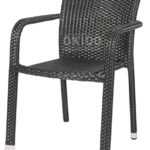 Horeca terrasstoel Java black model 2018
