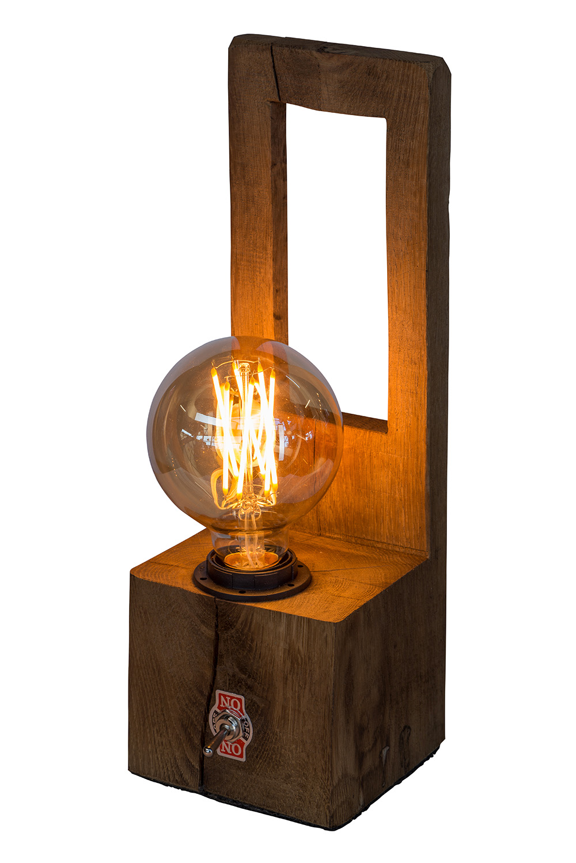 Lamp Stijn bol aan - Lamp Stijn