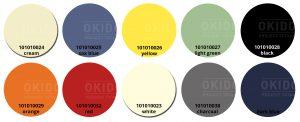 Sole kleurrondjes met logo 300x122 - Terrasstoel Sole cream