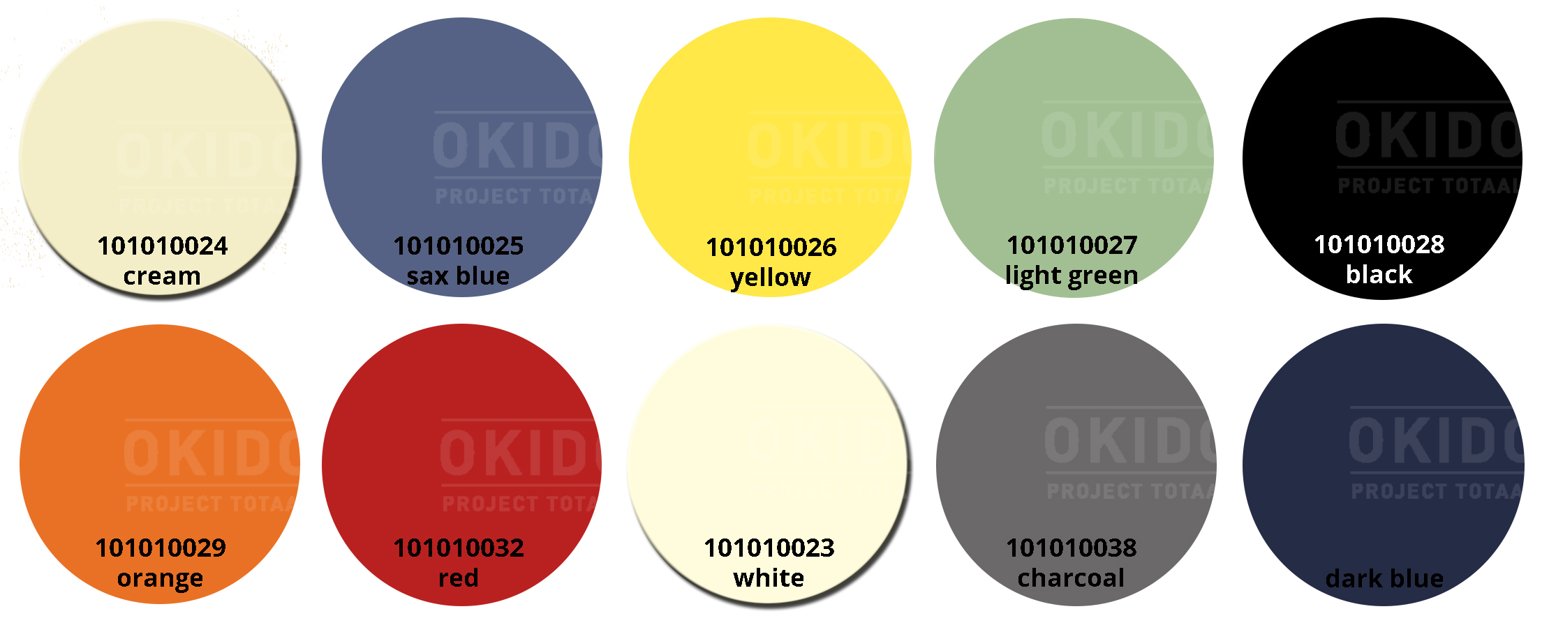 Sole kleurrondjes met logo - Terrasstoel Sole cream