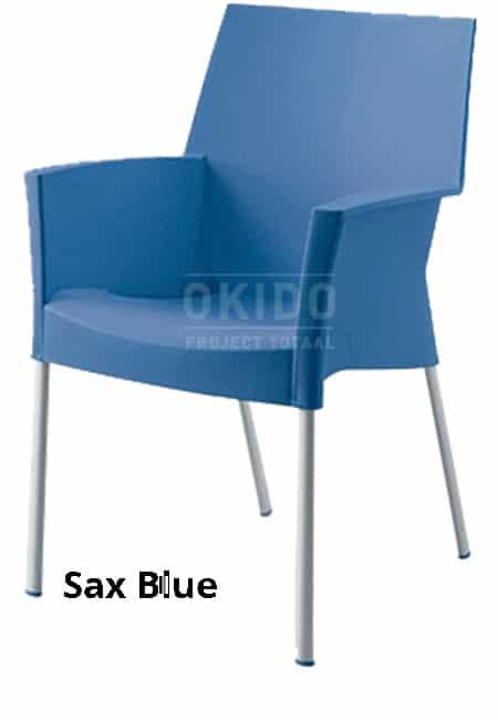 horeca Terrasstoel Sole Sax Blue