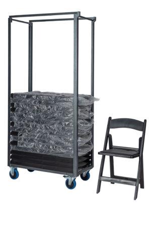 Transportkar weddingchair zij aanzicht dwars 300x449 - Weddingchair set