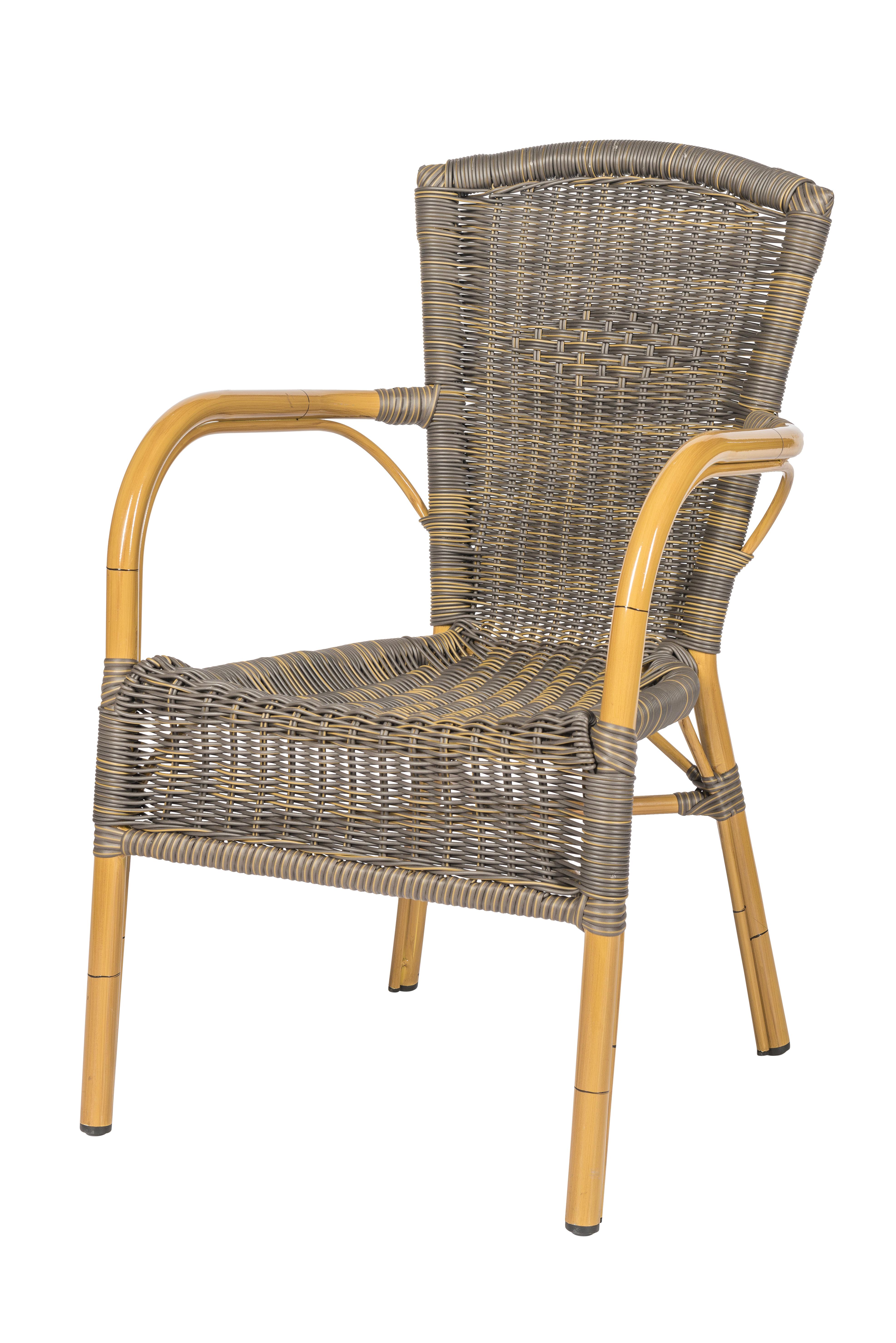 Horeca terrasstoel Zandvoort cappuccino