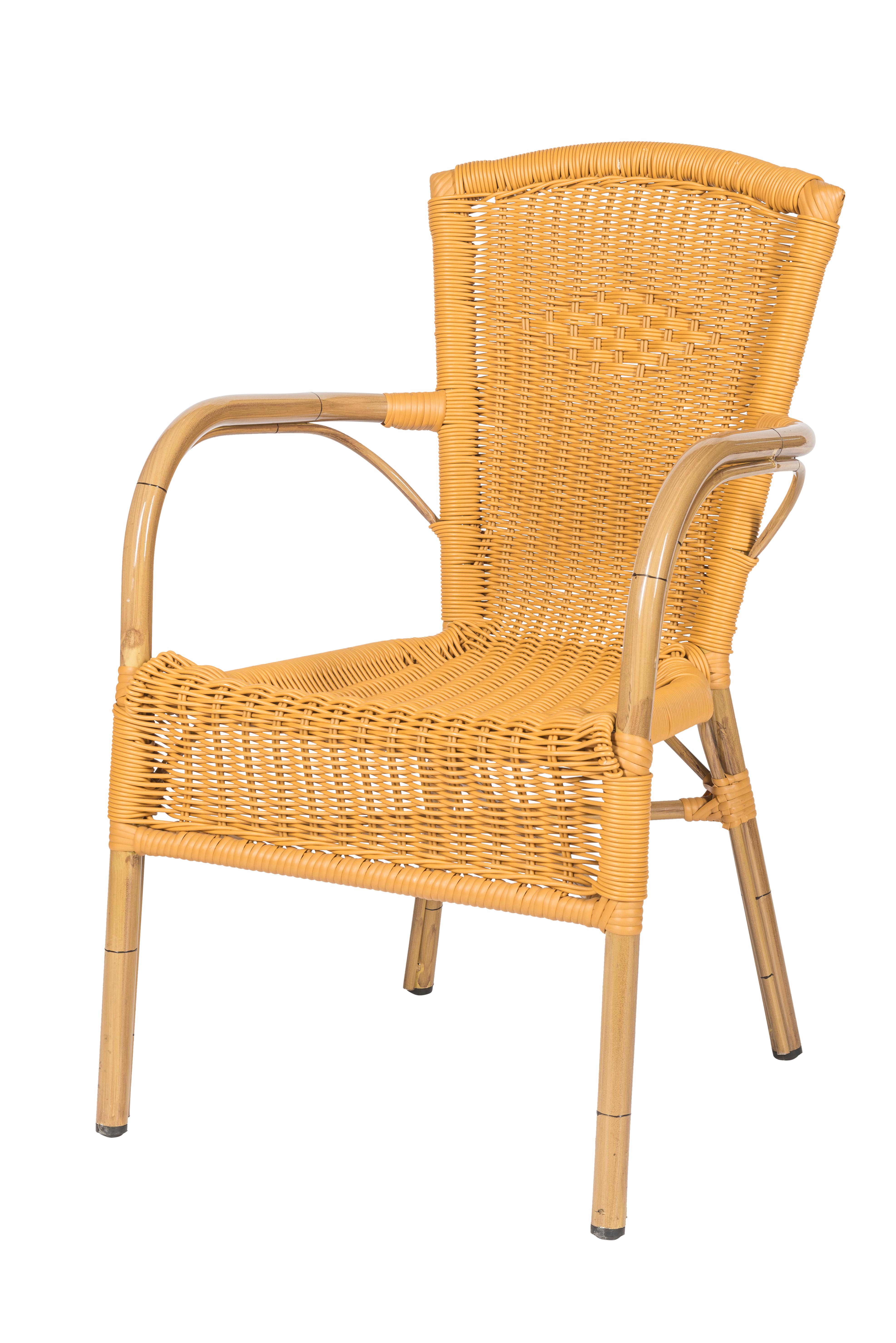 Horeca terrasstoel Zandvoort honey