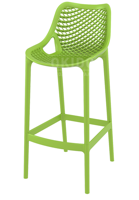 Ariane barchair tropical green - Barkruk Ariane Tropical Green