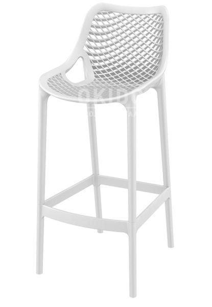 Ariane barchair white 1 415x600 - Barkruk Ariane Wit