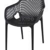 Ariane chair black 100x100 - Barkruk Ariane Black