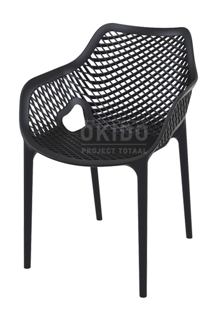 Ariane chair black - Barkruk Ariane Black
