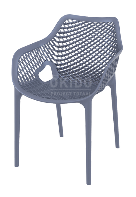 Ariane chair dark grey - Barkruk Ariane Dark Grey
