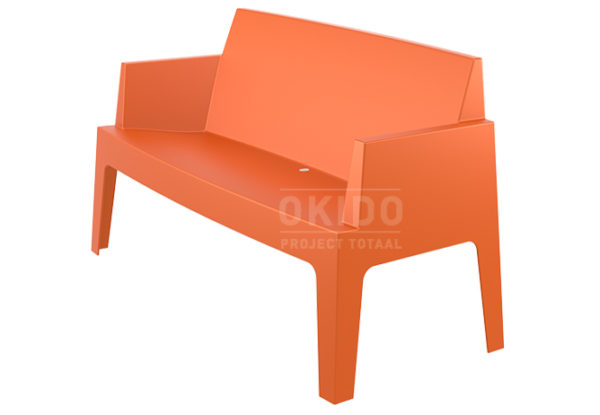 Box sofa orange side 600x415 - Box Outdoorbank