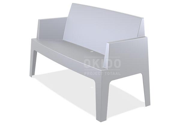 Box sofa silver grey front side 600x415 - Box Outdoorbank