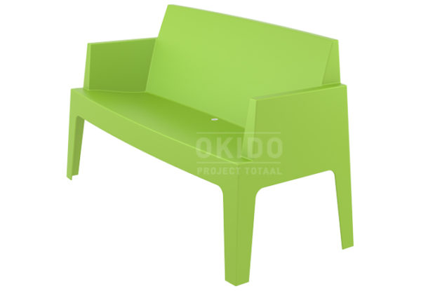 Box sofa tropical green side 600x415 - Box Outdoorbank