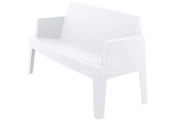 Box sofa white side 600x415 - Box Outdoorbank