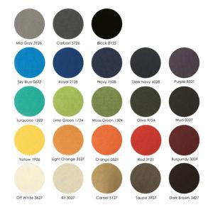 Sunol kleur stalen 300x299 - Zitkussen model Cadzand