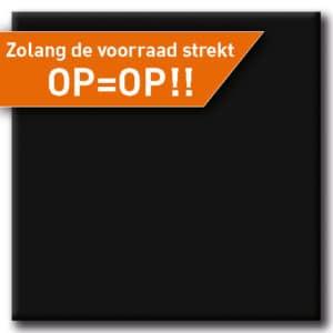 Terrastafelblad Werzalit 055 Zwart