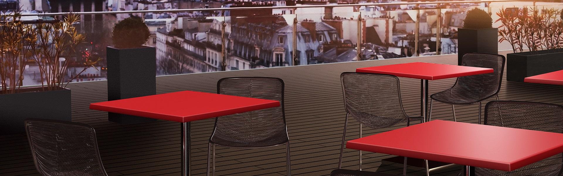 Bekijk onze terrastafel onderstellen