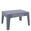box sidetable dark grey 100x100 - Box Sidetable