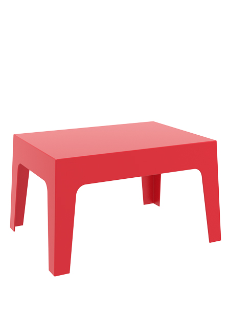 box sidetable red - Box Sidetable