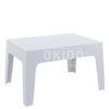 box sidetable silver grey 100x100 - Box Sidetable