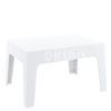 box sidetable white 100x100 - Box Sidetable
