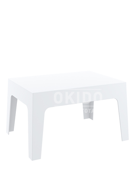 box sidetable white - Box Sidetable