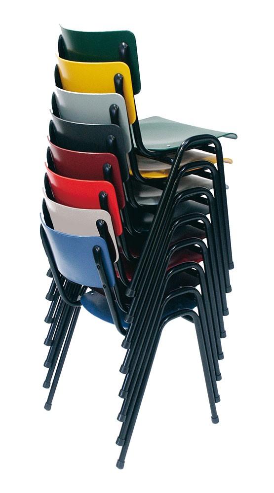 easy 3300 kleurstapel - Metalen stoel Easy 3300