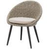 horeca Terrasstoel egg chair grey