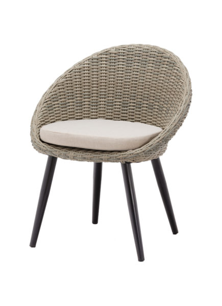 Terrasstoel Egg Chair Grey