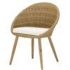 horeca Terrasstoel egg chair honey