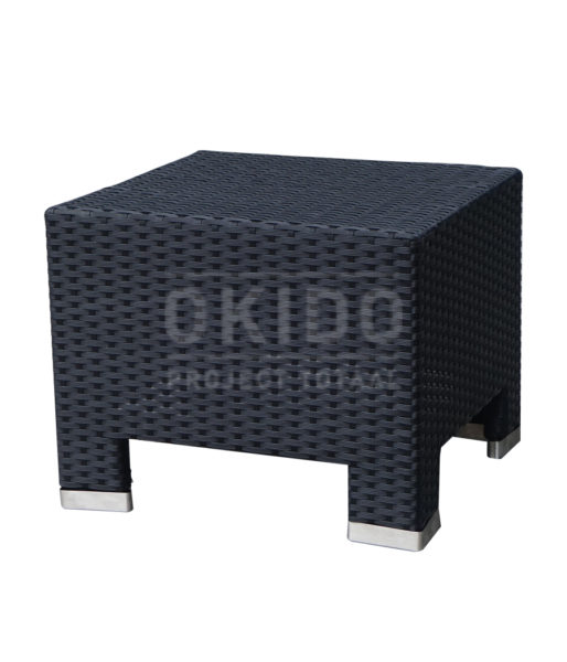 hocker zwart 514x600 - Hocker Mart Black String