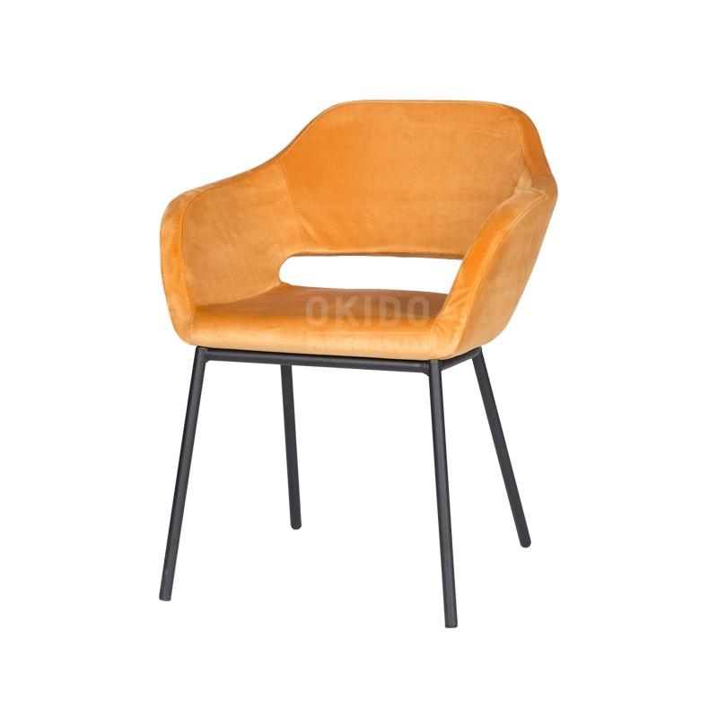 horeca stoel mees oranje