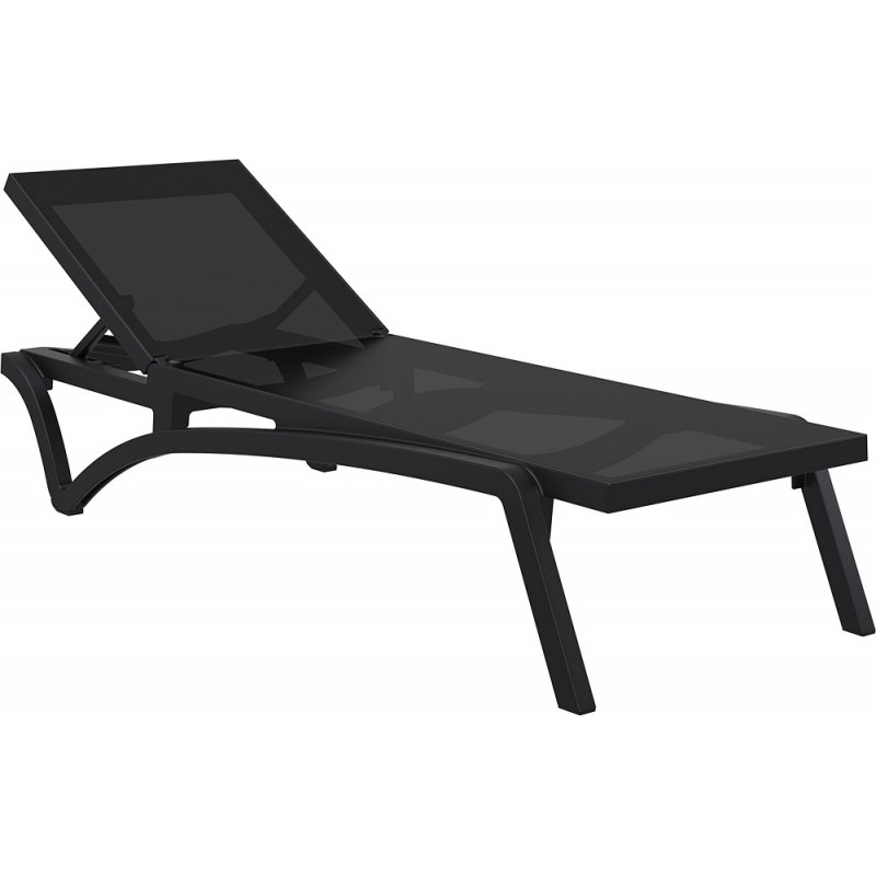 sunlounger pacific black - Sunlounger Pacific Black