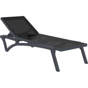 Sunlounger Pacific Dark Grey