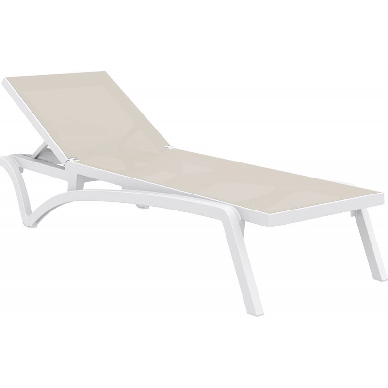 sunlounger pacific dove grey - Sunlounger Pacific White Taupe