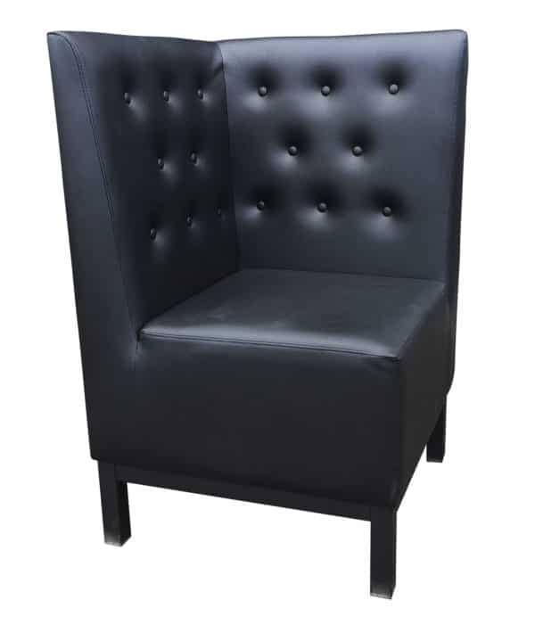 Hoekstuk zwart hoofdfoto 600x710 - Wandbank Florence hoek