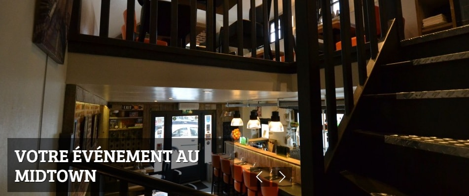 Interieur 1 2 - Restaurant Midtown, Plouzané