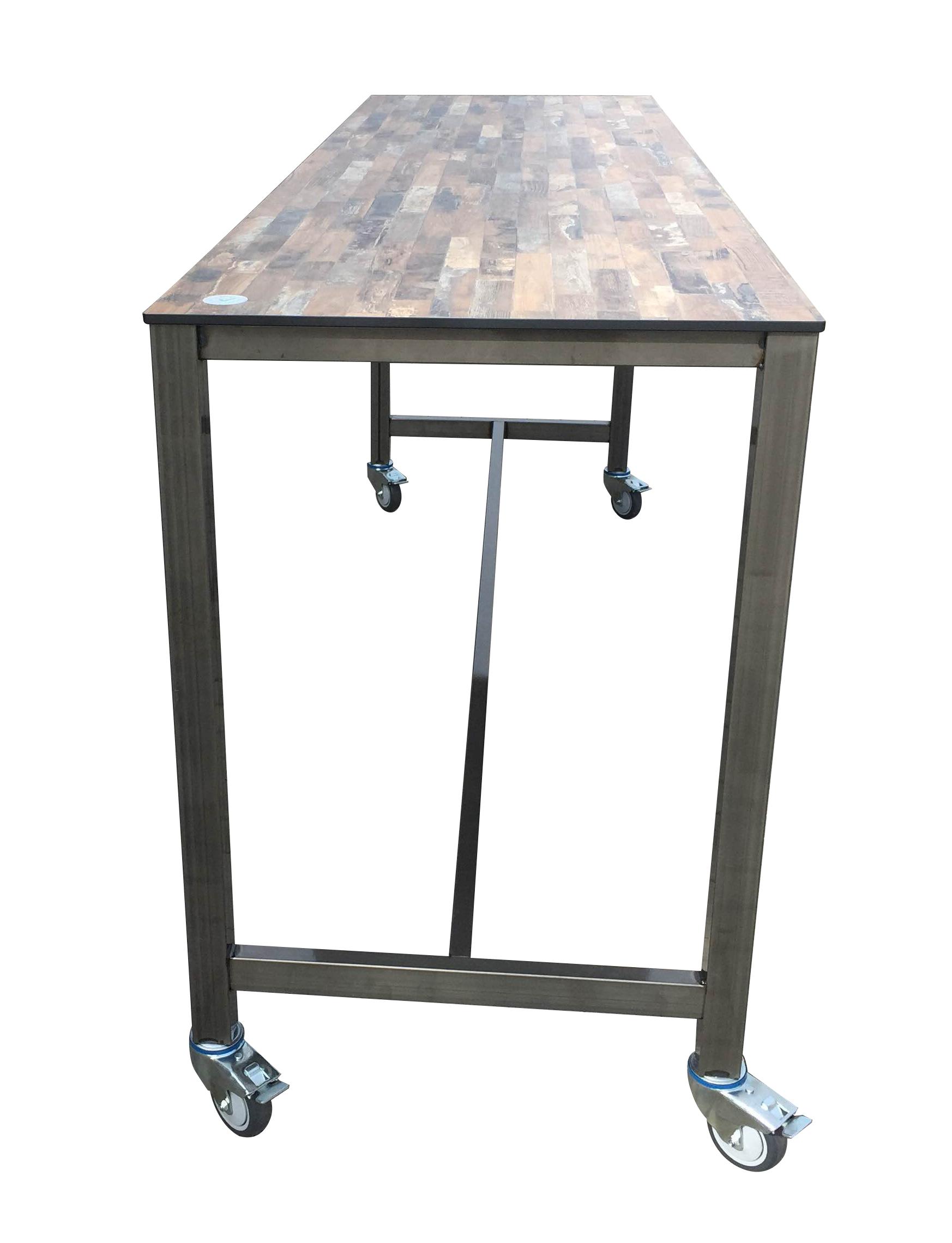tafel vrijstaand zijkant - Outdoor Bartafel