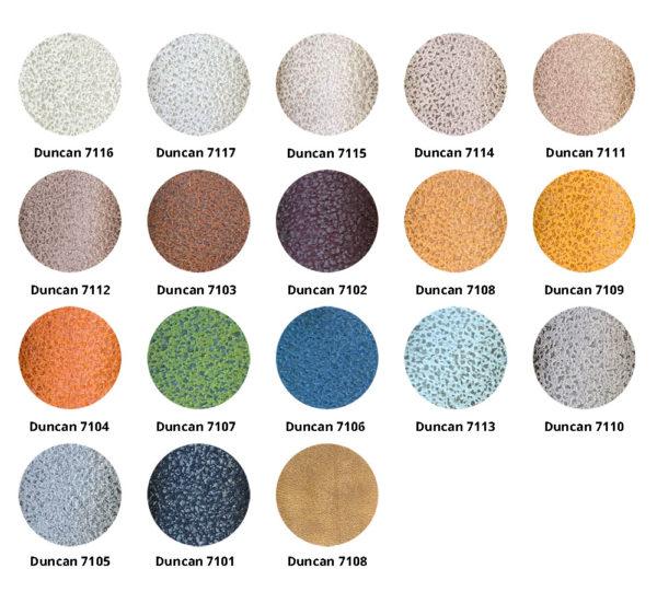 Duncan kleurrondjes 600x562 - Fauteuil Diana