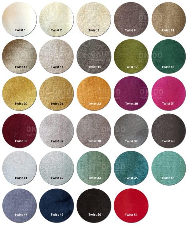 Twist kleuren
