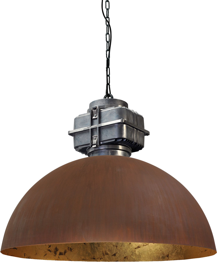 larino 2201 25 08 BL - Lamp Larino Motorblok Roest