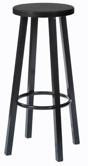 204 Zwart 300x563 - Barkruk 204H Zwart