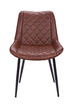 Ashley bruin vooraanzicht 1 300x432 - Stoel Ashley Dark Brown