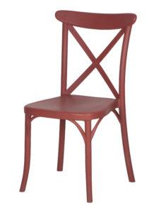 stoel silvan rood