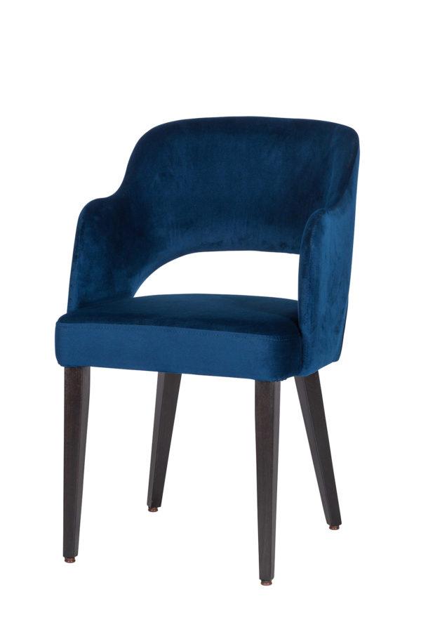 De stoel Debbie heeft Riviera stoffering