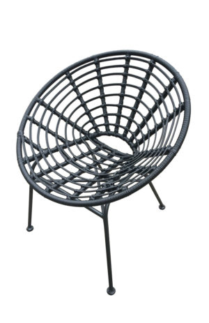 terrasstoel Jessy zwart
