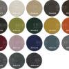 Riviera kleurrondjes met logo 100x100 - Armstoel Omega Karo