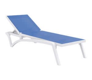 Pacific sunlounger blue